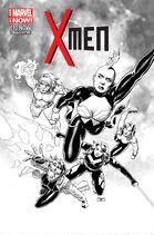 X-Men Vol 4 10 Cassaday Sketch Variant
