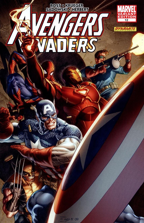 Avengers Invaders Vol 1 12 Eaglesham