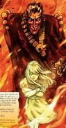 Belasco (Earth-616) and Illyana Rasputina (Earth-616) from New X-Men Vol 2 37 0001