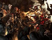 Daredevil Vol 2 100 Textless Wraparound