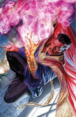 Doctor Strange Vol 4 2 Ross Variant Textless