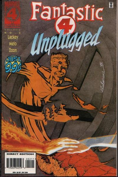 Fantastic Four Unplugged Vol 1 2