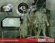 Invincible Iron Man Vol 1 500 Larroca Variant Textless