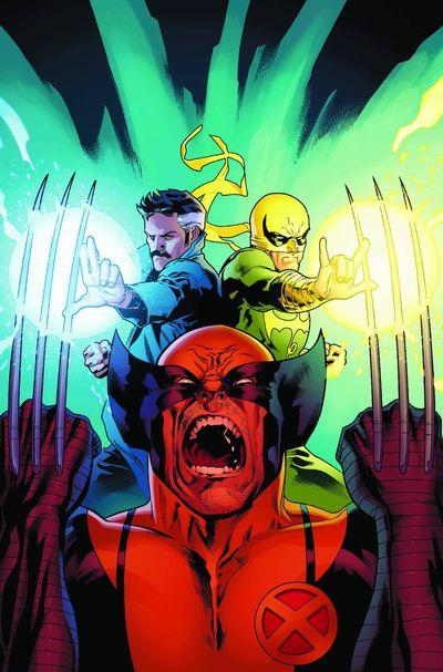 New Avengers Vol 2 3 Textless