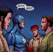Nick Fury meets Captain America for the first time in Wolverine Origins Vol 1 18