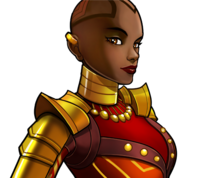 Okoye (Earth-TRN562) from Marvel Avengers Academy 004