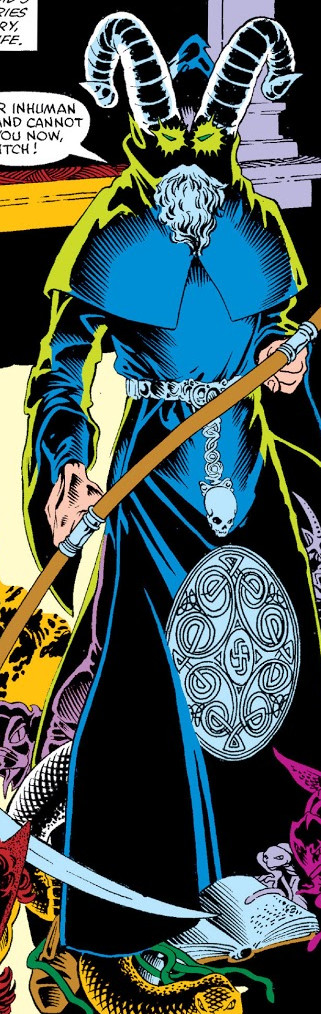 Samhain (Earth-616) from Vision and the Scarlet Witch Vol 1 1 001