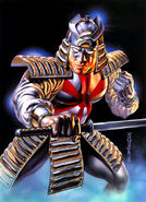 Silver Samurai (by Boris Vallejo) 01