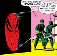 Spider-Man's Spider-Signal (Earth-616) from Amazing Spider-Man Vol 1 3 0003