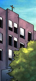 St. Mary's Hospital (Pierre) from Avengers Vol 3 69 001