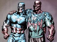 Steven Rogers (Earth-616) and Isaiah Bradley (Earth-616) from Truth - Red, White & Black Vol 1 7 001