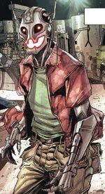 Ultron 8 (Earth-807128) from Old Man Hawkeye Vol 1 1 0001