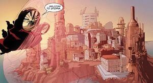 Utopia (X-Men Base) from X-Treme X-Men Vol 2 3 001