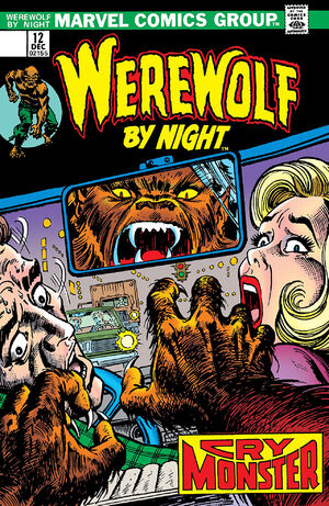 Werewolf by Night Vol 1 12
