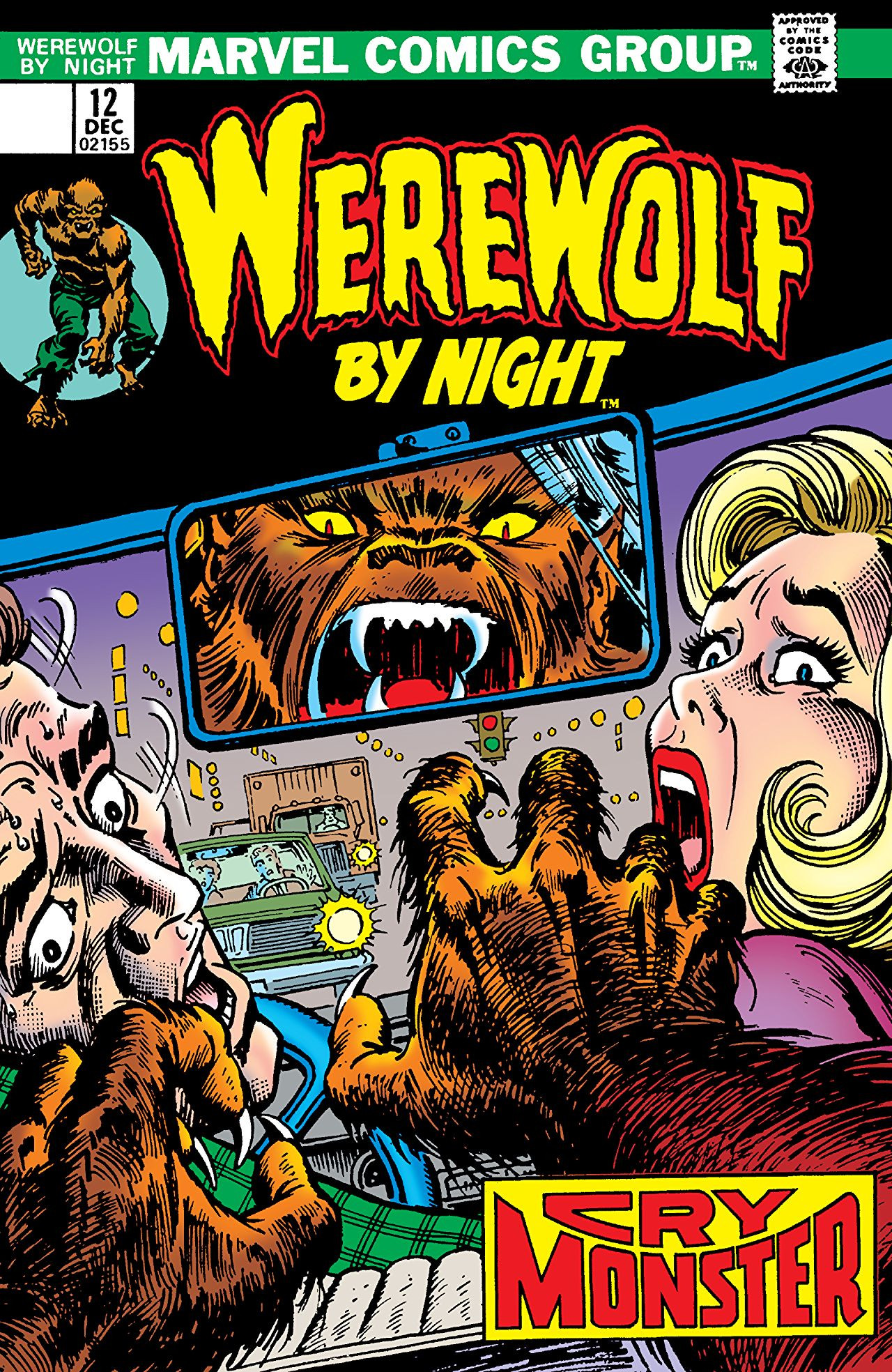 Werewolf by Night Vol 1 12 | Marvel Database | FANDOM ...
