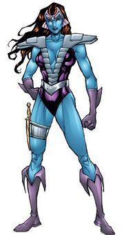 Andromeda Attumasen (Earth-616) from Defenders Strange Heroes Vol 1 1 001