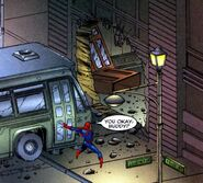 Courtney Lane and Price Street from Spider-Man Badrock Vol 1 1 001