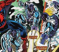 Cyber-Hunters (Earth-616) from Web of Spider-Man Vol 1 98 0001