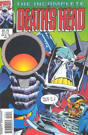 Incomplete Death's Head Vol 1 10