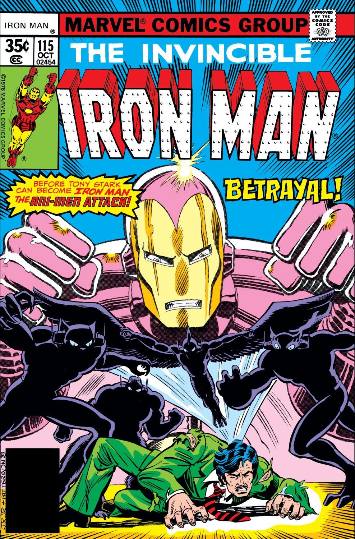 Iron Man Vol 1 115