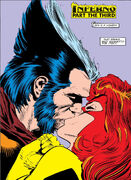 Jean Grey & James Howlett (Earth-616) from Uncanny X-Men Vol 1 242 001