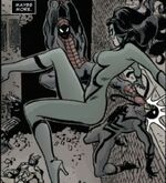 Jessica Drew (Earth-11080) from Marvel Universe Vs. The Punisher Vol 1 3 0001