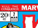 Kull the Conqueror Vol 1 7