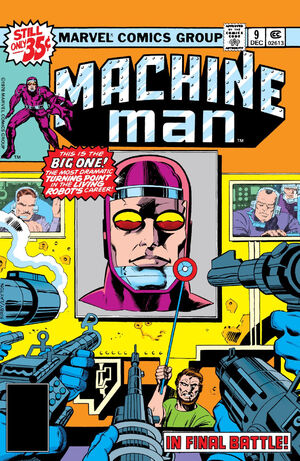 Machine Man Vol 1 9