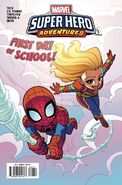 Marvel Super Hero Adventures Captain Marvel - First Day of School Vol 1 1