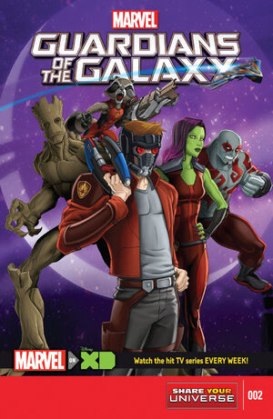 Marvel Universe Guardians of the Galaxy Vol 2 2