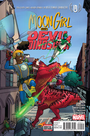 Moon Girl and Devil Dinosaur Vol 1 9