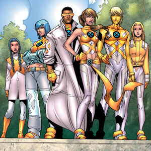 New Mutants Squad (Earth-616) from New X-Men Vol 2 2 0001