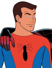 Peter Parker (Earth-67) unmasked from Amazing Spider-Man Vol 3 9 001