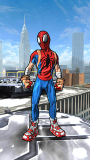 Peter Parker (Earth-TRN464) from Spider-Man Unlimited (video game)