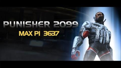 Punisher 2099 Special Moves Marvel Contest of Champions