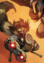 Rocket Raccoon (Earth-7642) from Free Comic Book Day Vol 2015 (Secret Wars) 001