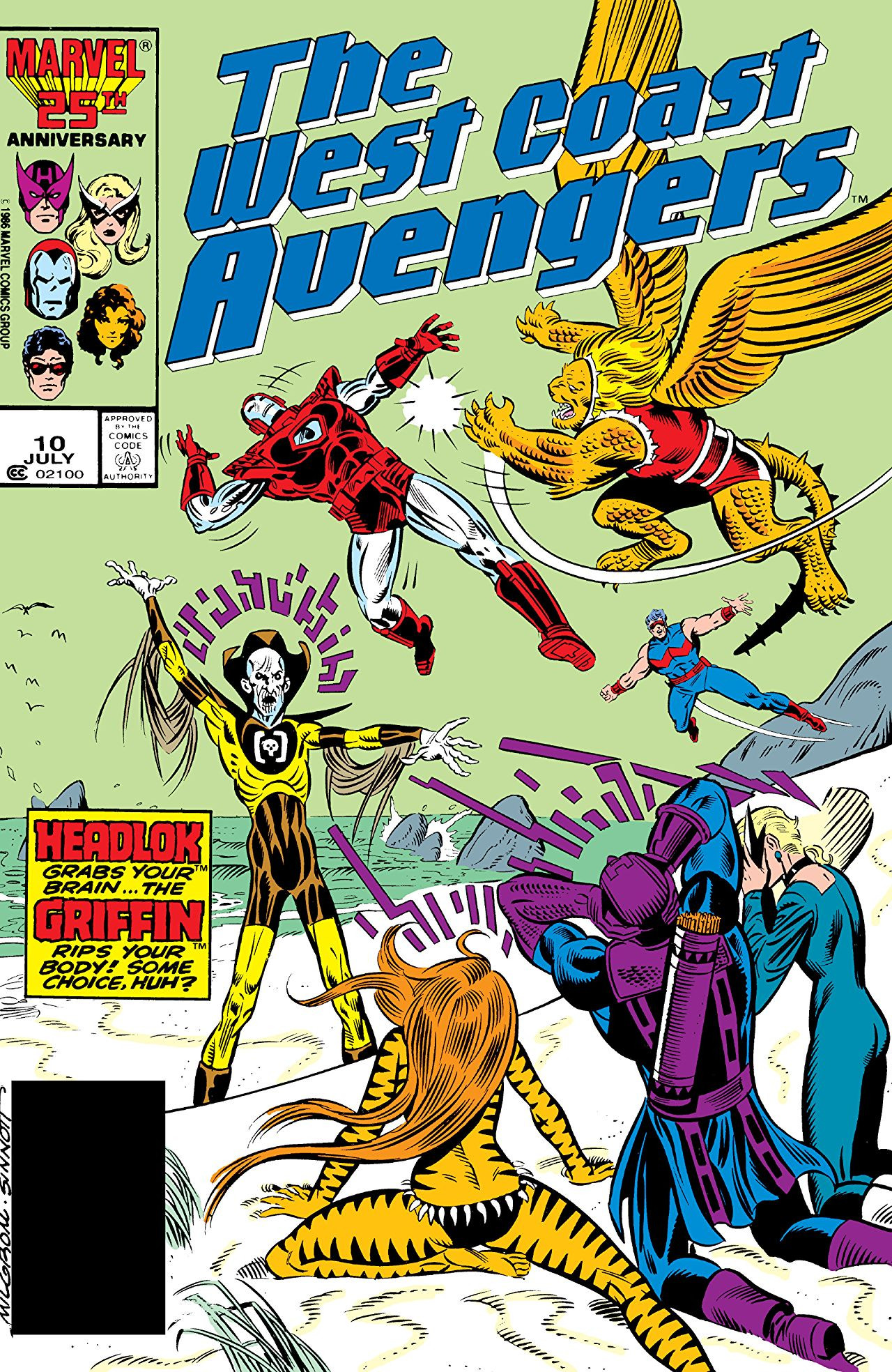 West Coast Avengers Vol 2 10