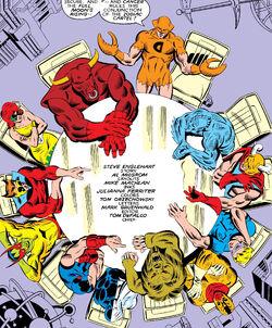 Zodiac Cartel (Earth-616) from West Coast Avengers Vol 2 26 0001