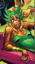 Amora (Earth-95019) from Marvel Apes Amazing Spider-Monkey Special Vol 1 1 0001