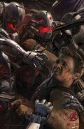 Avengers Age of Ultron concept art poster 005