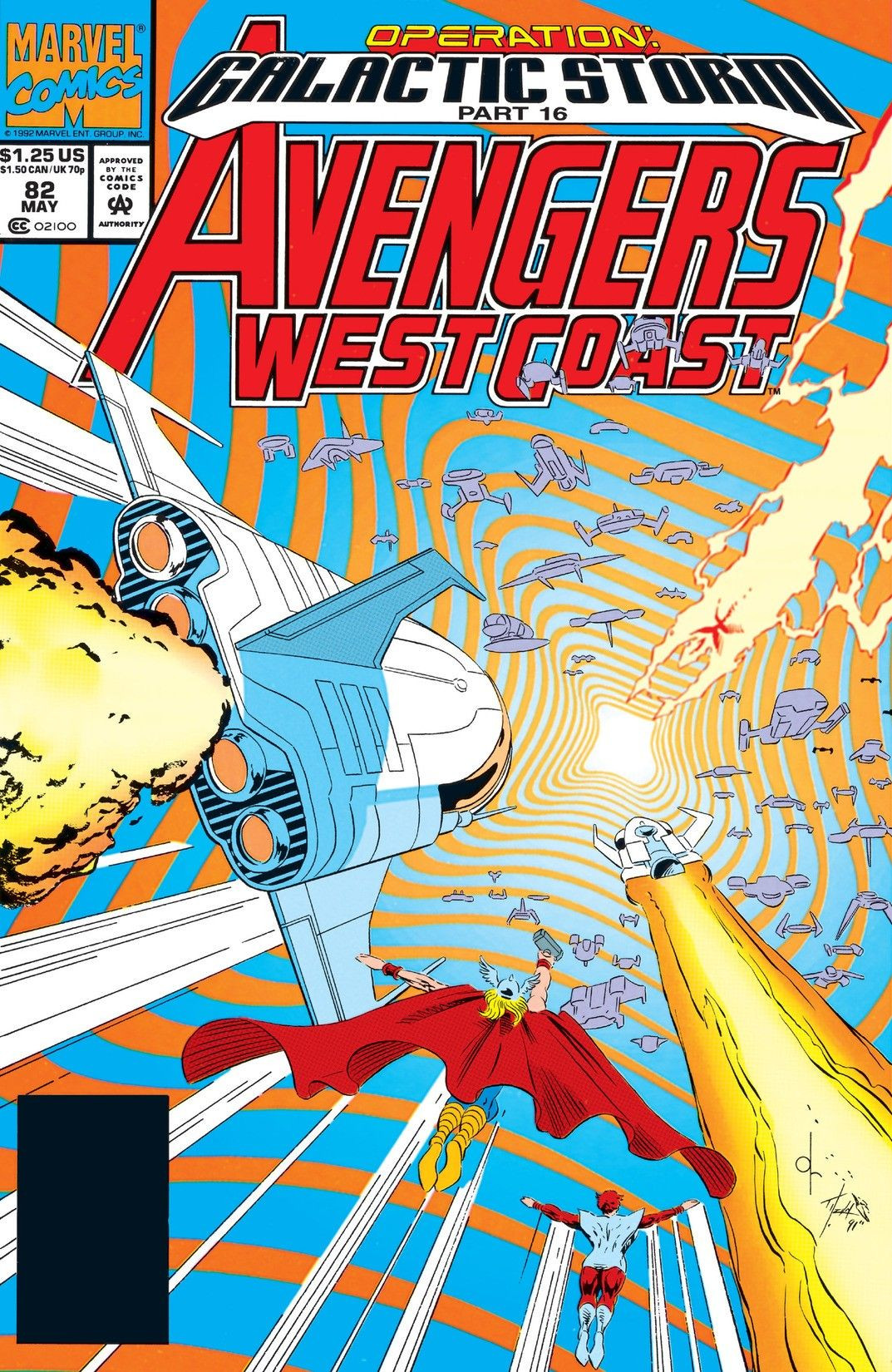 Avengers West Coast Vol 1 82