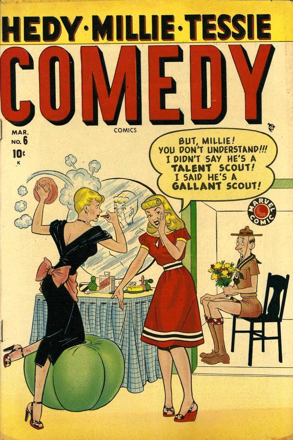 Comedy Comics Vol 2 6