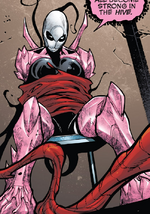 Hive (Poisons) (Earth-17952) Members-Poison Gwenpool from Venomverse Vol 1 4 001