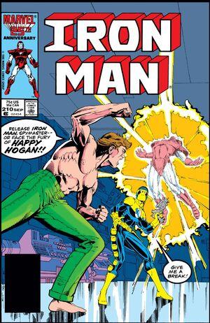 Iron Man Vol 1 210
