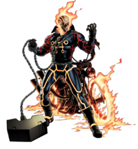 Johnathon Blaze (Earth-12131) as Greithoth from Marvel Avengers Alliance 0001