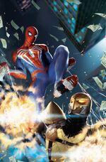 Marvel's Spider-Man City at War Vol 1 3 Lim Variant Textless
