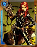Natalia Romanova (Earth-616) from Marvel War of Heroes 019