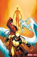 Ultimate Comics X-Men Vol 1 1 Bagley Variant Textless
