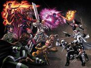 Uncanny X-Force Vol 1 11 Textless Mark Brooks Variant