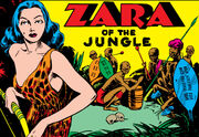 Zara of the Jungle (Earth-616) from Mystic Comics Vol 1 2 0001